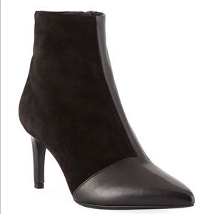 RAG & BONE Beha mixed leather/suede zip up booties